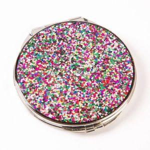 Papyrus Multicolor Glitter Compact Mirror